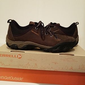 Merrell Brown Leather Shoes Men's 8